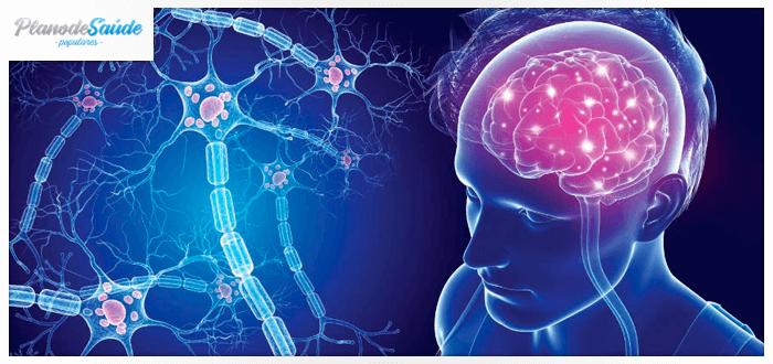 Reprodução em 3D da esclerose múltipla no cérebro