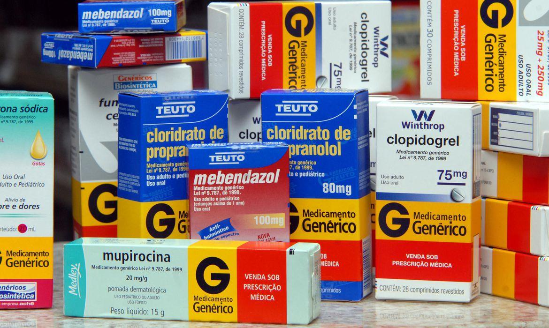 Caixas de remédios - Medicamento genérico