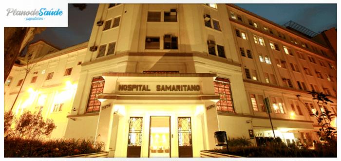 Fachada do Hospital Samarinato