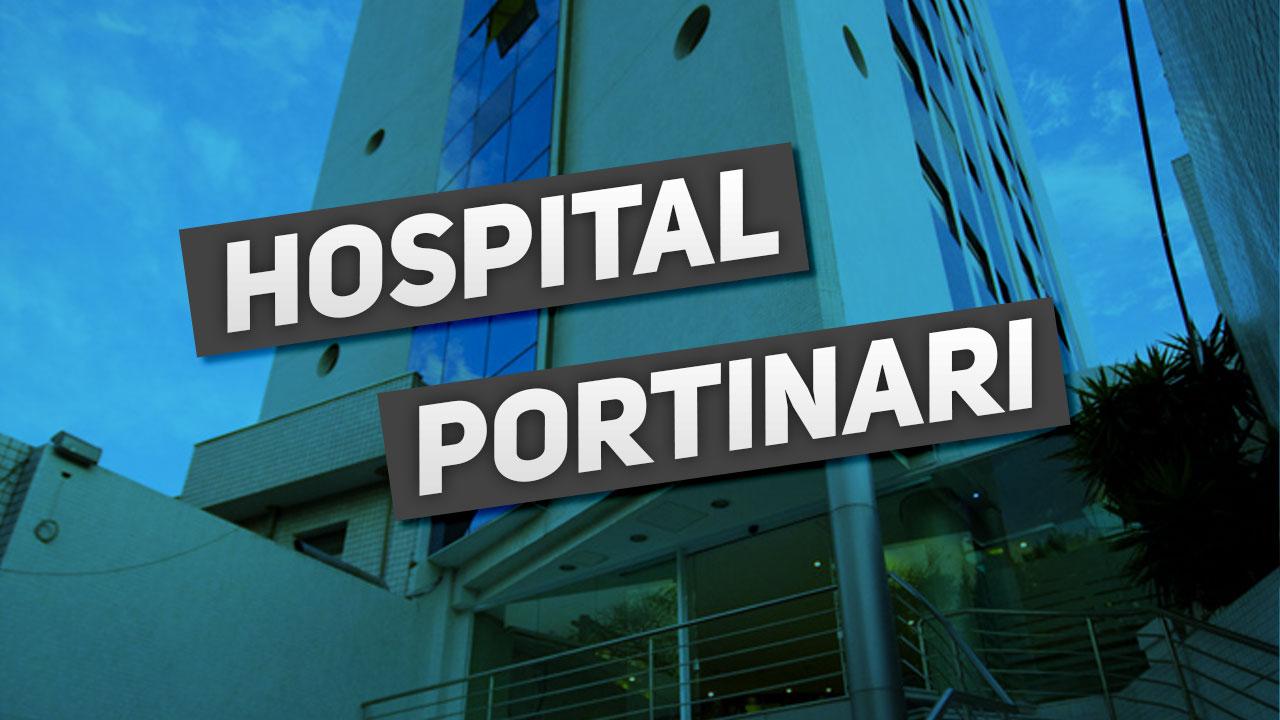 Fachada do hospital portinari